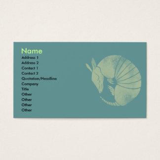 Vintage Armadillo Business Card