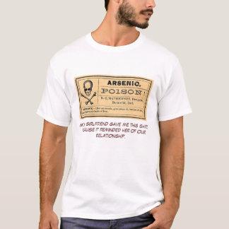 Vintage Arsenic Poison Label- ex girlfriend Tee