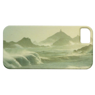 Vintage art, Corsica, Les iles Sanguinaires misty Barely There iPhone 5 Case