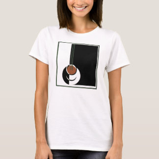 Vintage Art Deco, Cup of Coffee with Steam T-Shirt