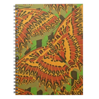 Vintage Art Deco Fine Art Abstract Gifts Spiral Note Books