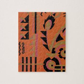 Vintage Art Deco Fine Art Geometric Abstract Photo Puzzle