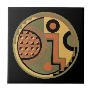 Vintage Art Deco Geometric Abstract Tiles Boxes