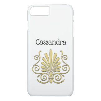 Vintage Art Deco Gold Plume Arabesque iPhone 8 Plus/7 Plus Case