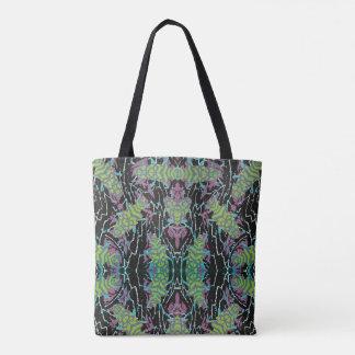 Vintage Art Deco Jazz Pochoir Beetles in Garden Tote Bag