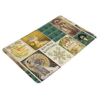 Vintage Art Deco Ladies Floor Mat