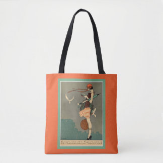 Vintage Art Deco Poster Tote Bag