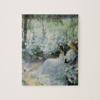Vintage Art, Delicious Solitude by Frank Bramley Jigsaw Puzzle