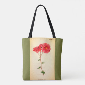 Vintage-Art-Floral_Botanical_Totes & Purse-Bag-M-L Tote Bag