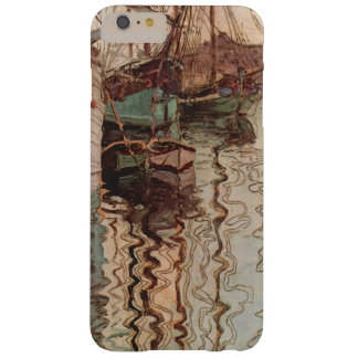 Vintage Art, Harbor of Trieste by Egon Schiele Barely There iPhone 6 Plus Case