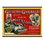 Vintage Art Macaroni Label Poster Postcards