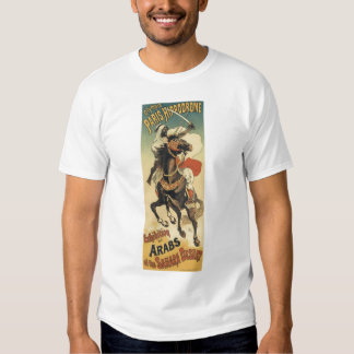 Vintage Art Nouveau, Arabs of the Sahara Desert Shirts