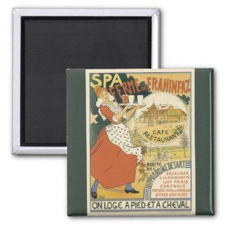 Vintage Art Nouveau, Beer Bar Cafe and Restaurant Fridge Magnets