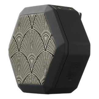 vintage,art nouveau,beige,grey,art deco, french,ru black bluetooth speaker
