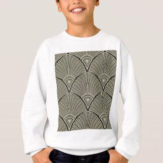 vintage,art nouveau,beige,grey,art deco, french sweatshirt