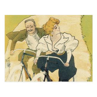 Vintage Art Nouveau, Bicycles Gladiator Cycles Postcard