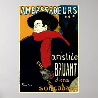 Vintage Art Nouveau by Henri de Toulouse Lautrec Posters