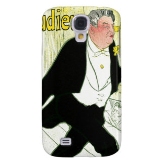 Vintage Art Nouveau, Caudieux by Toulouse Lautrec Samsung Galaxy S4 Covers