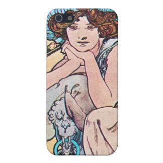 Vintage Art Nouveau Covers For iPhone 5