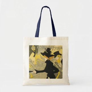 Vintage Art Nouveau, Divan Japonais Nightclub Cafe Tote Bags