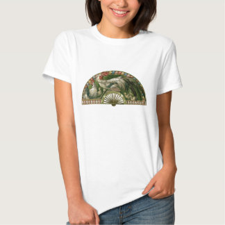 Vintage Art Nouveau, Easter Eggs with Chickens Shirt