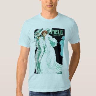 Vintage Art Nouveau, Fancy Women and Italy Fashion T-shirt
