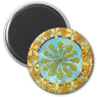 Vintage Art Nouveau Fridge Magnet