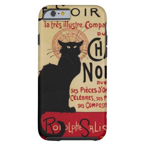 Vintage Art Nouveau, Le Chat Noir iPhone 6 Case