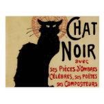 Vintage Art Nouveau, Le Chat Noir Postcards