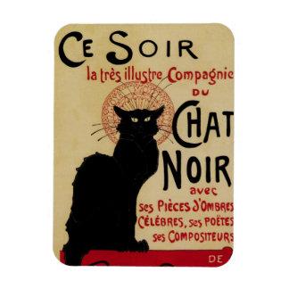 Vintage Art Nouveau, Le Chat Noir Rectangular Photo Magnet