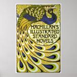 Vintage Art Nouveau, Macmillan's Peacock Feather Print