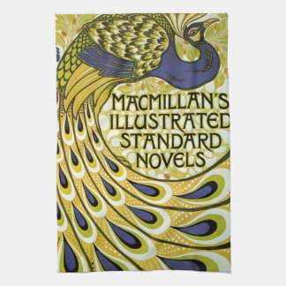 Vintage Art Nouveau, Macmillan's Peacock Feather Tea Towel