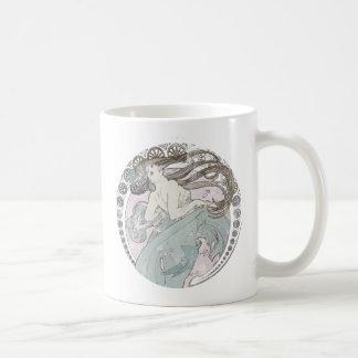 Vintage Art Nouveau Mugs
