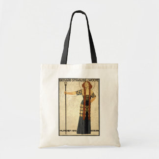 Vintage Art Nouveau Richard Strauss-Woche. Munich Tote Bag