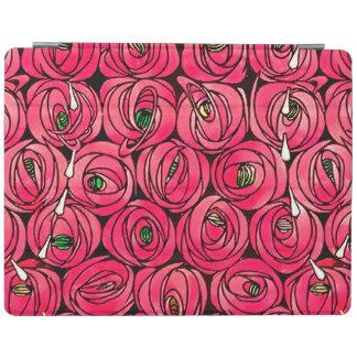 Vintage Art Nouveau Roses iPad Cover