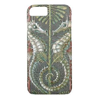 Vintage Art Nouveau, Seahorses Marine Animals iPhone 8/7 Case