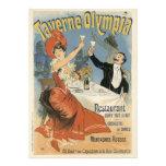 Vintage Art Nouveau; Taverne Olympia, Drinks Party Custom Invite
