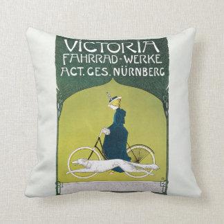 Vintage Art Nouveau, Victoria Fahrrad Werke, Rehm Cushion