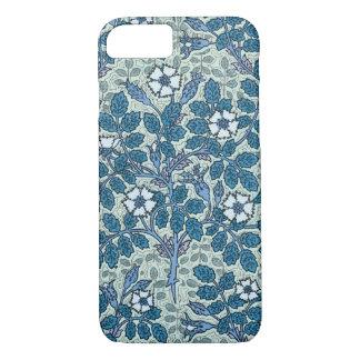 Vintage Art Nouveau, Wild Rose Flowers in Garden iPhone 7 Case
