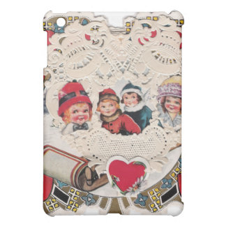 Vintage Art of Children Cover For The iPad Mini