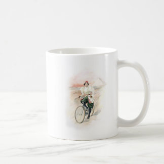 Vintage Art / Old Fashioned Bicycle - Egypt Coffee Mug