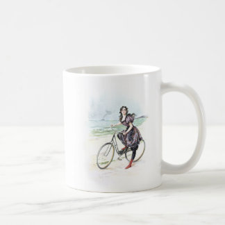 Vintage Art / Old Fashioned Bicycle - Newport (UK) Coffee Mug