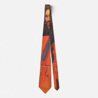 Vintage Art, Player Schneklud Portrait, Gauguin Tie
