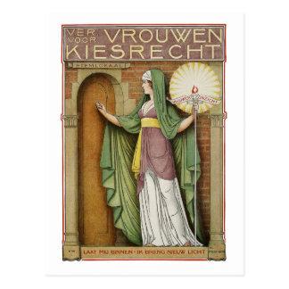 Vintage Art Postcard Theo Molkenboer