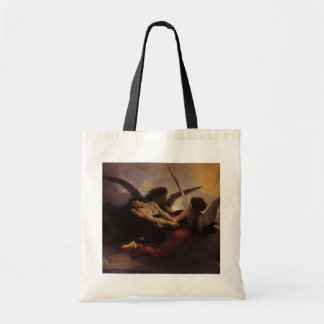 Vintage Art, Soul Brought to Heaven by Bouguereau Budget Tote Bag