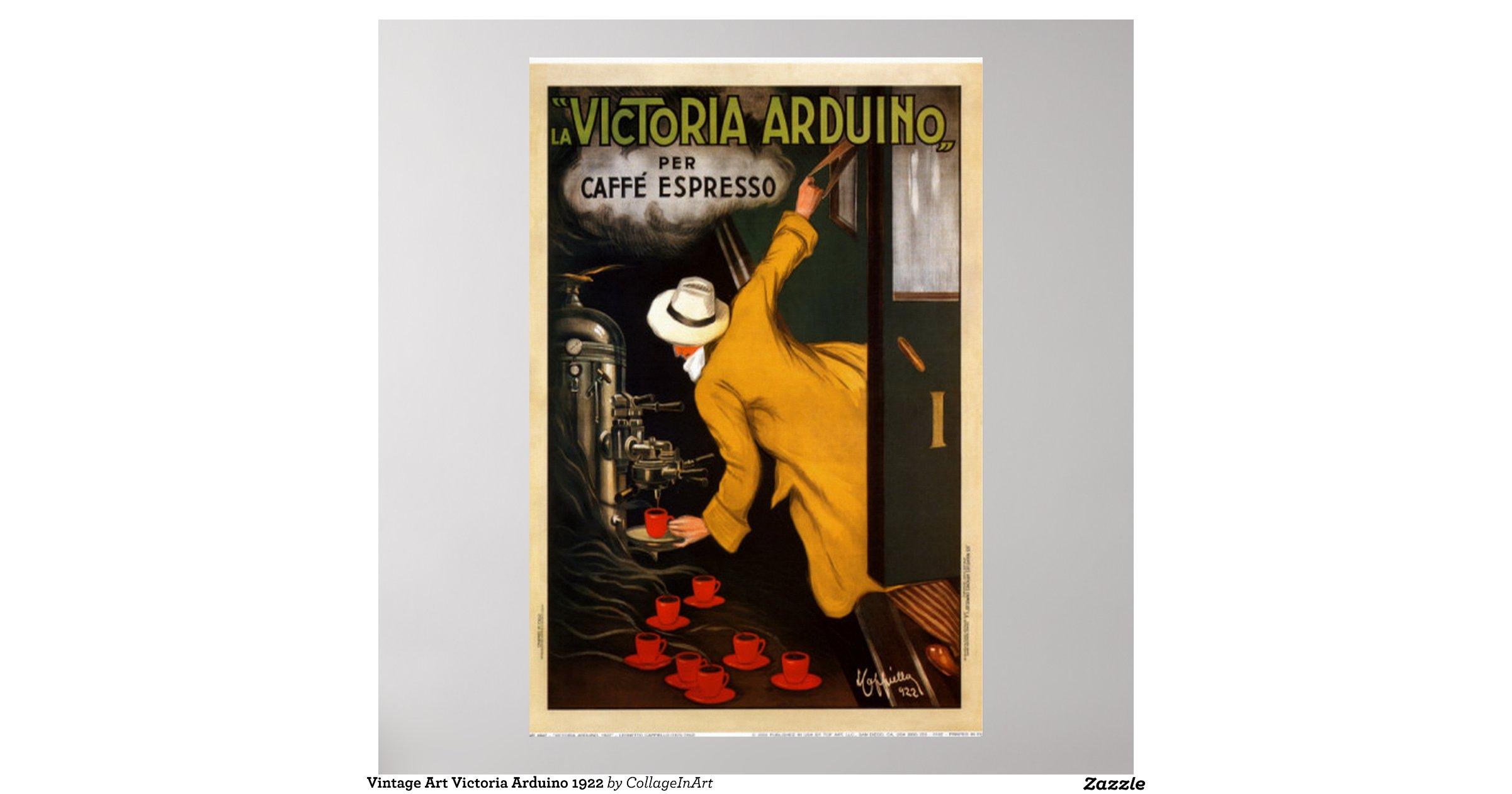 Vintage art victoria arduino poster zazzle