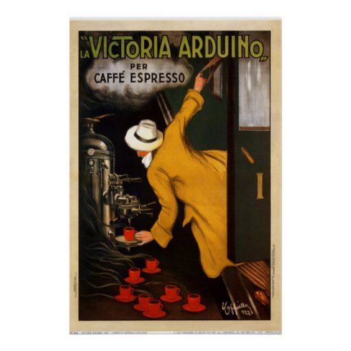Vintage Art Victoria Arduino 1922 Poster