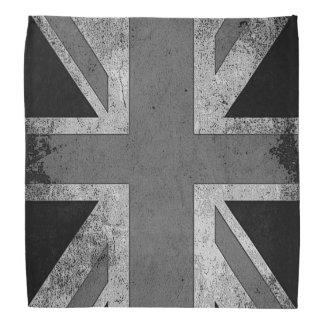 Vintage Artistic Grunge UK Flag Bandana