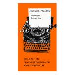 Vintage  Artistic Typewriter Writer