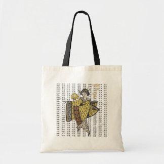 Vintage Artwork Japanese Lady on Tote Bag